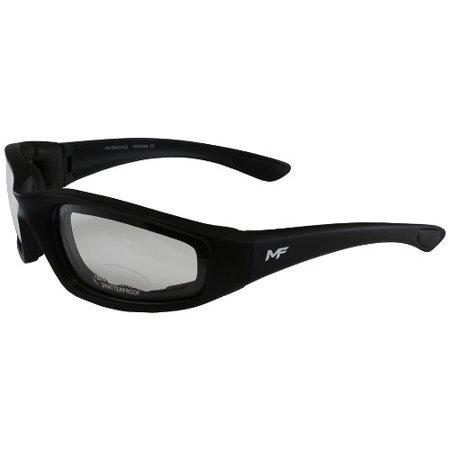 MF Payback Sunglasses (Black Frame/Clear Lens) ()