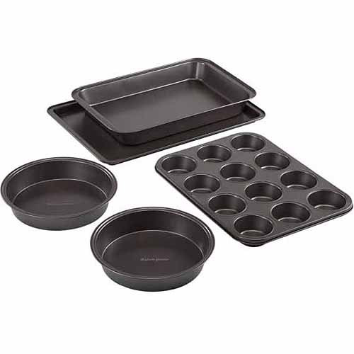 Baker's Secret Essentials 5-Piece Bakeware Set