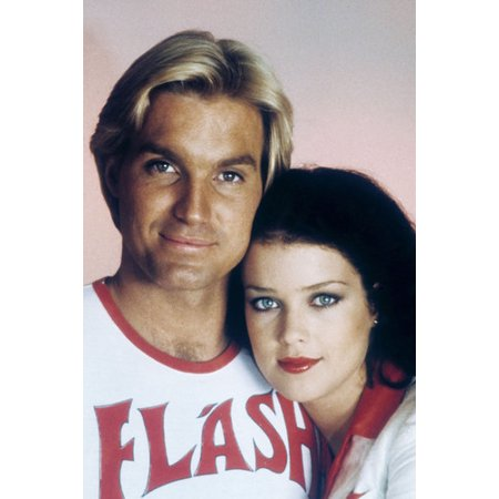 Sam J. Jones and Melody Anderson in Flash Gordon 24x36 Poster