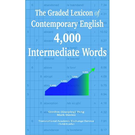 The Graded Lexicon of Contemporary English: 4,000 Intermediate Words - eBook (4000 English Words Essential)