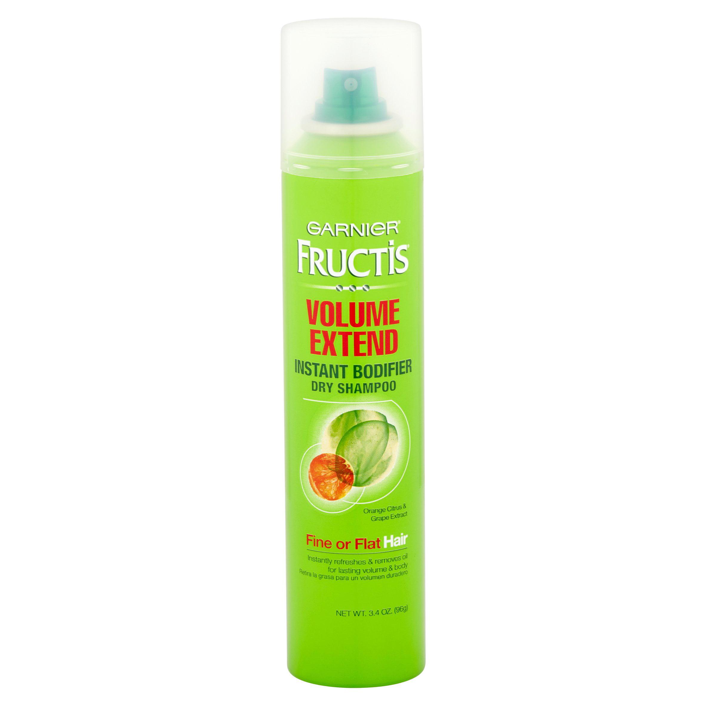 Garnier Fructis Volume Extend Instant Bodifier Dry Shampoo Orange ...