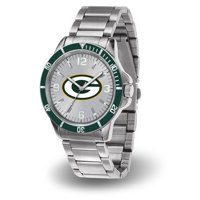 Green Bay Packers Sparo Key Bracelet Quartz Watch - Silver - No Size