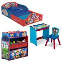 Nick Jr. 4-Pieces PAW Patrol Room-in-a-Box Bedroom Set