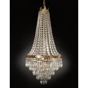 "French Empire Crystal Chandelier With Empress Crystal (tm) H30"" x W17"""