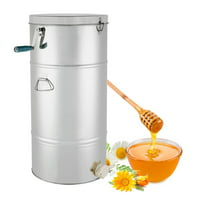 High sensitivity Bee Honey Extractor Two 2 Frame Stainless Steel Bee Honey Extractor SS Honeycomb Drum beekeeping