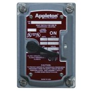 APPLETON ELECTRIC EDSK-MC3 Motor Switch, 30A, 600V, 3P