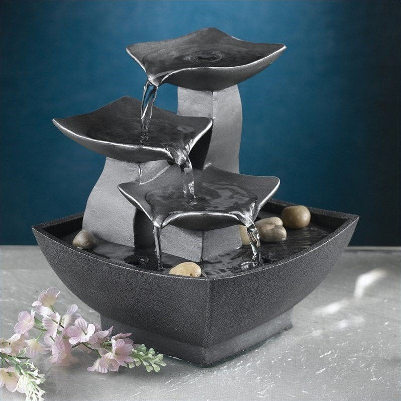 Jeco Tabletop Leaves Water Fountain by Jeco Inc.