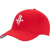 Men's Red Houston Rockets Mass Adjustable Hat - OSFA