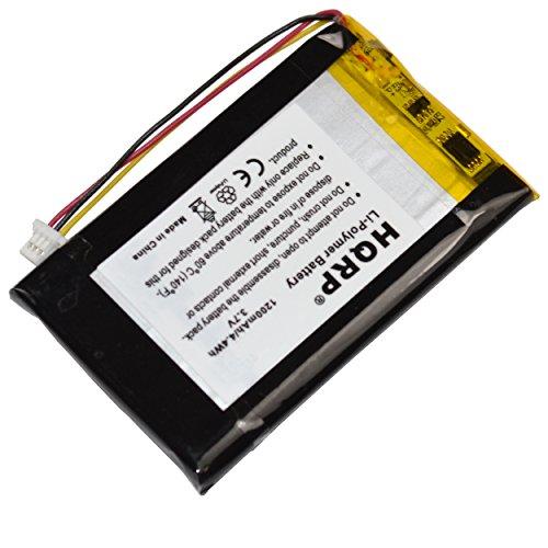 HQRP Battery for GARMIN Nuvi 285 285W 285WT ED26ED2985878 3590LMT 361-00019-40 GPS Navigator + HQRP Coaster