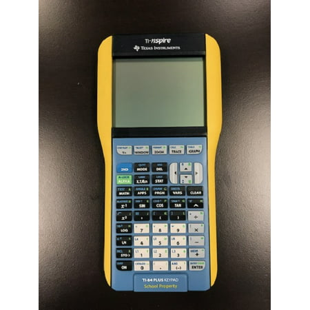 Refurbished Texas Instruments Ti Nspire Graphing Calculator With Nspire And TI-84 Plus
