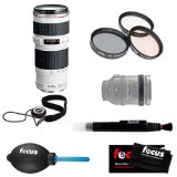 Canon 70-200mm f/4.0 EF-L USM Zoom Lens Bundle