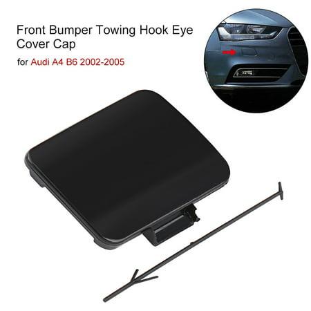 Front Bumper Towing Hook Eye Cover Cap For Audi A4 B6 2002-2005,Car Towing Hook Cover, Tow Hook Cap For Audi Bumper Towing Eye