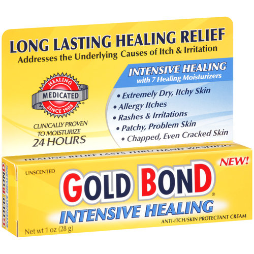 Gold Bond Intensive Healing Anti-Itch/Skin Protectant Cream, 1 oz