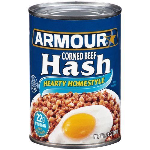 Armour Hearty Homestyle Corned Beef Hash, 14 oz by Pinnacle Foods Group LLC