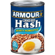 (3 Pack) Armour Hearty Homestyle Corned Beef Hash, 14 oz