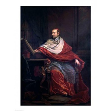 Cardinal Pierre De Berulle Poster Print by Philippe De Champaigne - 24 x 36 in. - Large - image 1 of 1