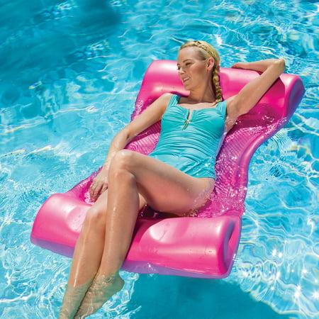 46 Shocking Pink Aquaria Aqua Hammock Swimming Pool Water Float