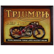 RAM Game Room Pub Sign - Triumph Speed Twin