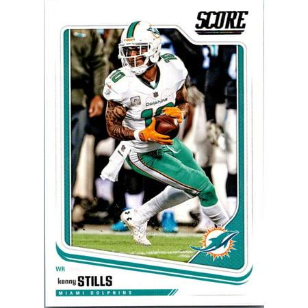 2018 Score #192 Kenny Stills Miami Dolphins Football Card