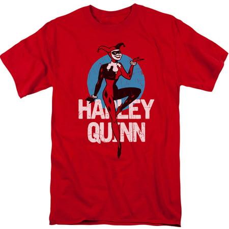 Batman Men's  Smooth T-shirt Red - Red Batman
