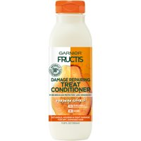 Garnier Damage Repairing Treat Conditioner, For Damaged Hair, Papaya Fructis, 11.8 fl. oz.