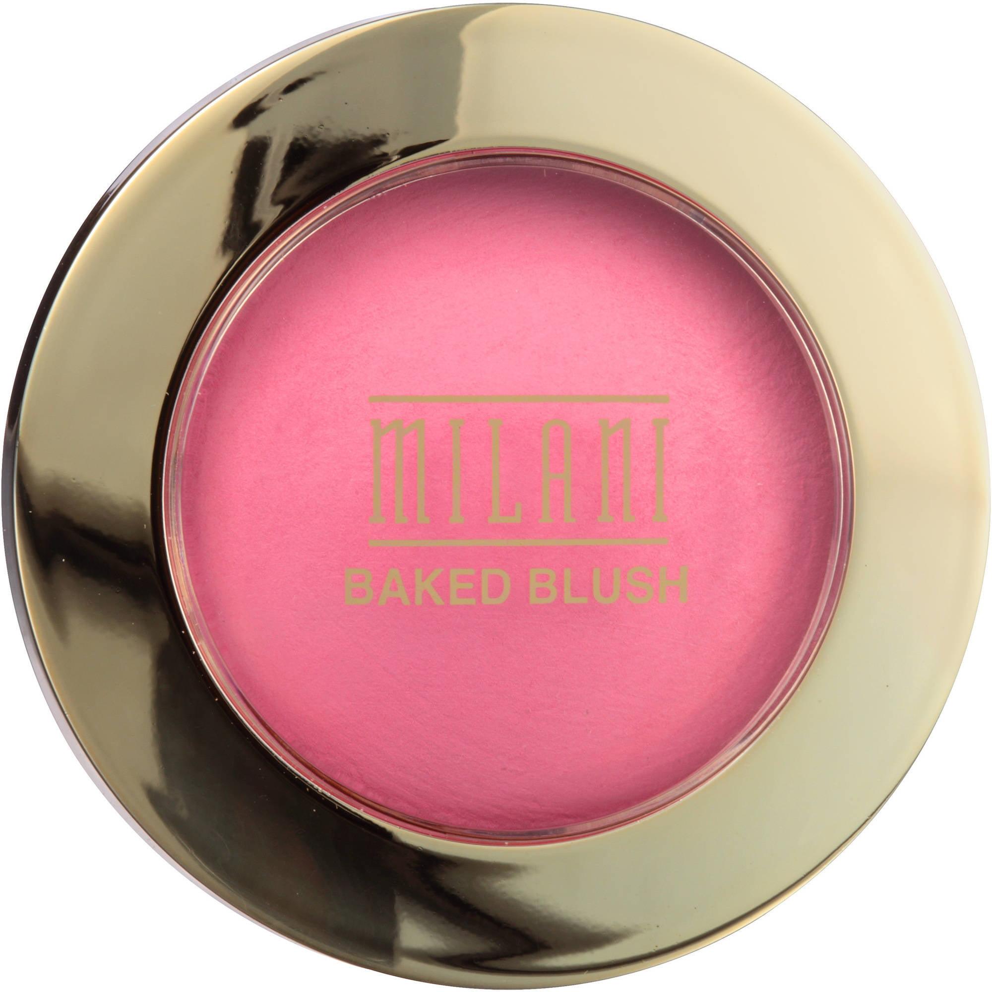 Milani Baked Blush, 10 Delizioso Pink, 0.12 oz