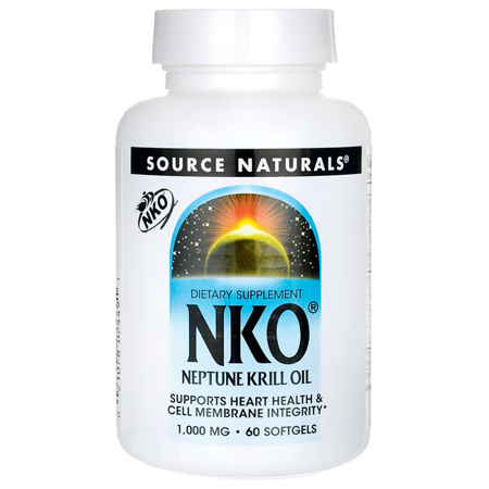 Neptune Krill Oil 1000 mg Source Naturals, Inc. 60 Softgel