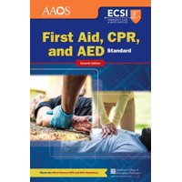 Standard First Aid, Cpr, and AED (Paperback)