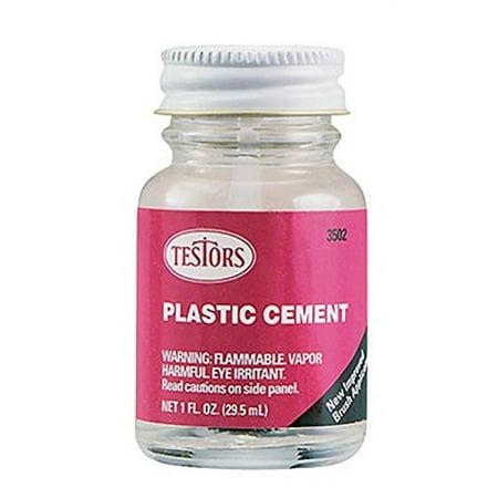 Testors Plastic Cement Liquid 1 Oz