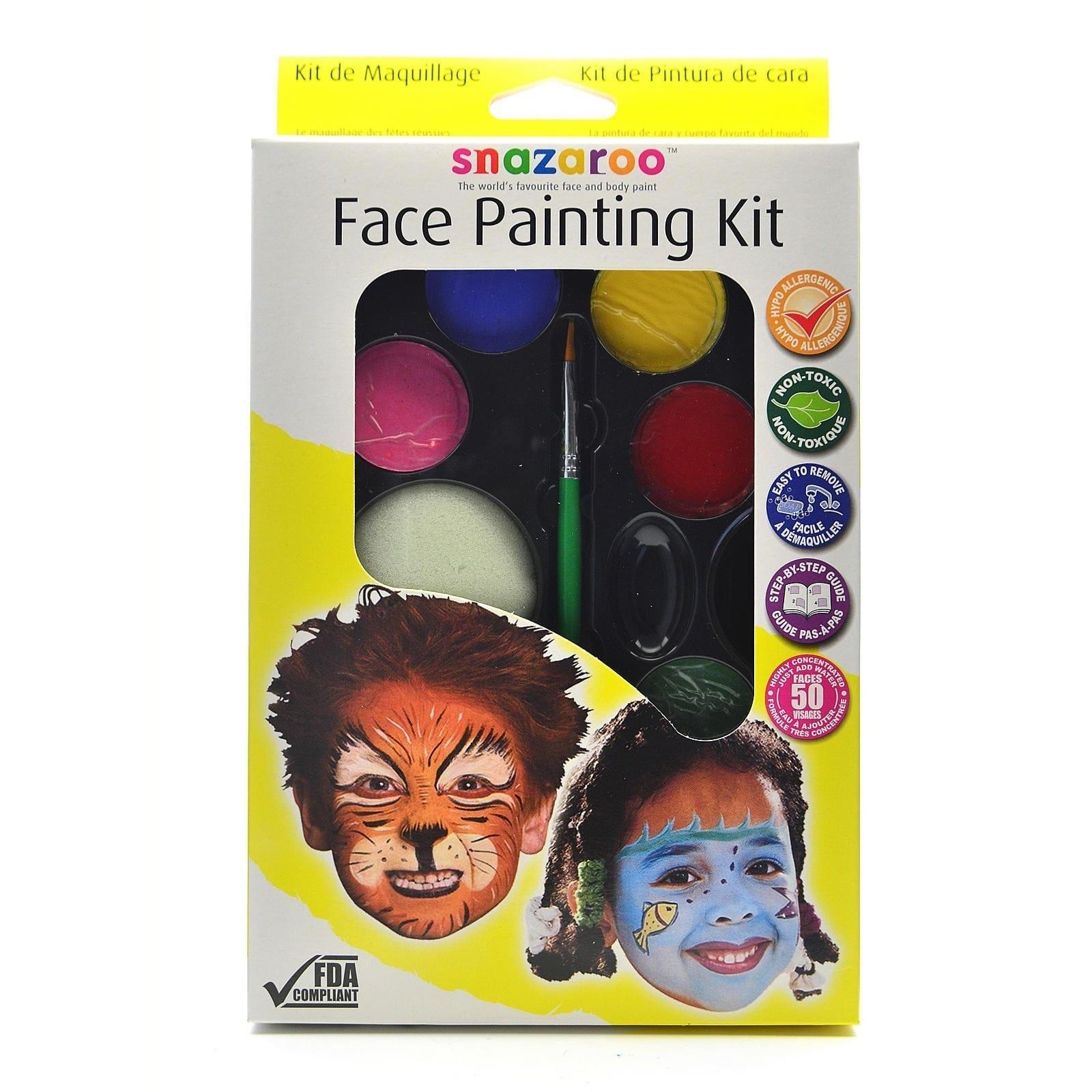 Snazaroo Palette Kit - Halloween