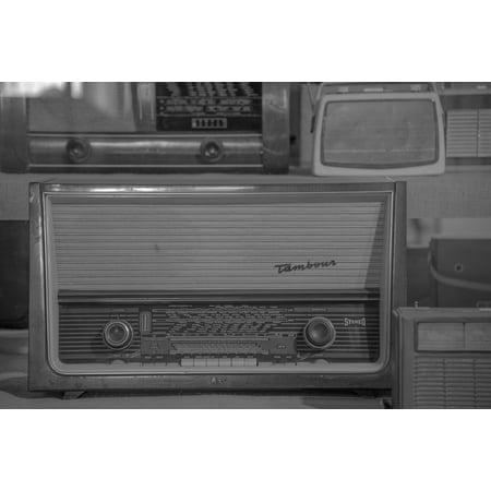 LAMINATED POSTER Speakers Tube Radio Antique Retro Old Radio Poster Print 24 x 36