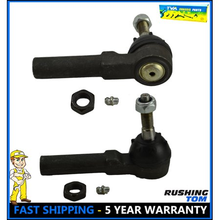 2 Front Outer Tie Rod End Left & Right Pair Chrysler PT Cruiser Dodge Neon 95-05
