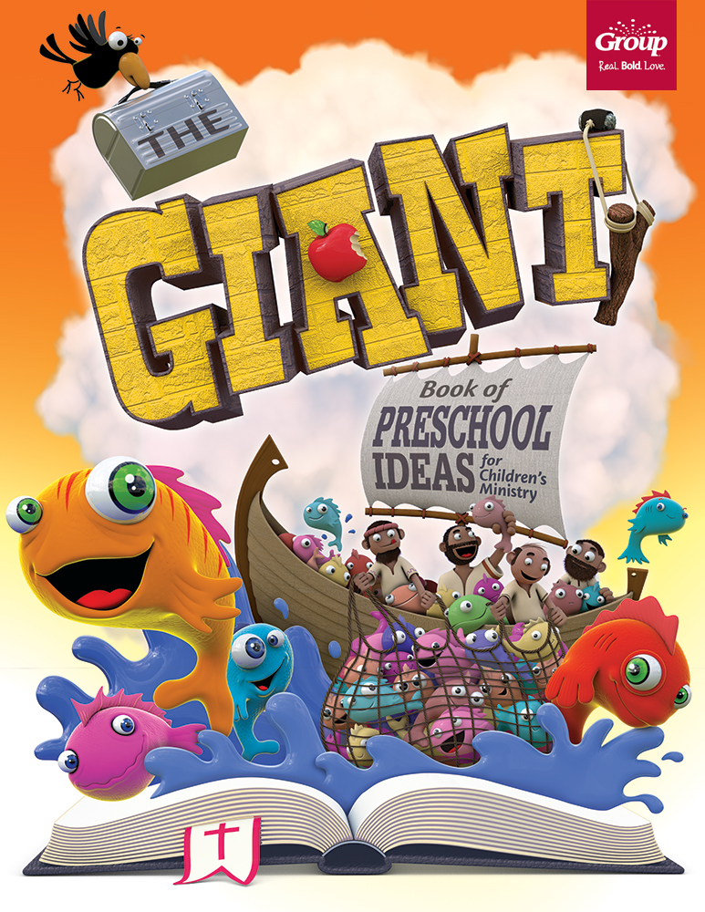 The Giant Book of Preschool Ideas for Children's Ministry by GROUP PUBLISHING, INC.