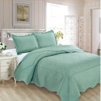 Fancy Collection 3pc Luxury Bedspread Coverlet