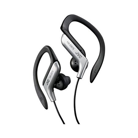 Sports Ear Clip Headphones (JVC HA-EB75S Sports Ear Clip Headphones Silver )