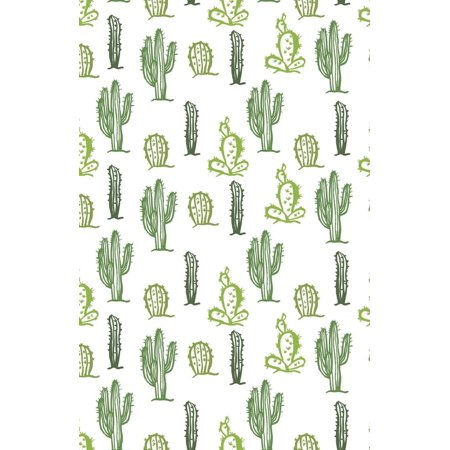 Discreet Password Book : Never Forget a Password Again! 5.5 X 8.5 Cactus Design, Small Password Book with Tabbed Large Alphabet, Pocket Size Over 380 Record User and