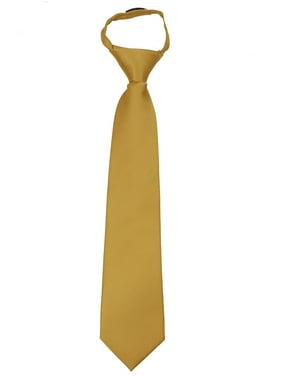3d583c690ca9 Product Image Men's Solid Color Zipper Necktie Ties - Many Colors Available