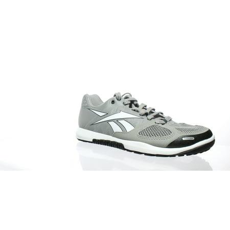 Reebok Womens Crossfit Nano 2.0 Grey White Cross Training Shoes Size