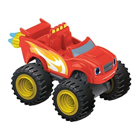 Fisher-Price Nickelodeon Blaze & the Monster Machines, Blazing Speed Blaze Vehicle, These monster trucks feature big wheels and even bigger personalities By