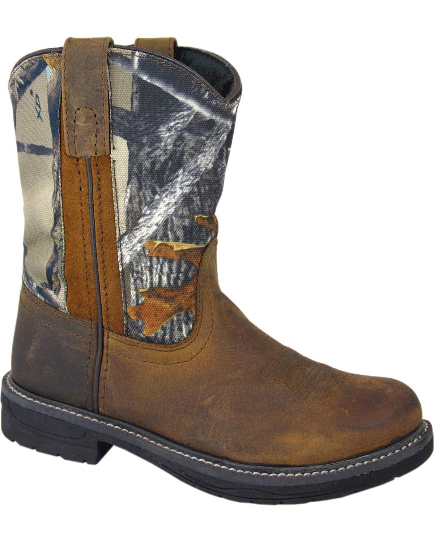 Smoky Mountain Boys' Buffalo Wellington Western Boot Round Toe - 2463Y