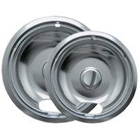 Range Kleen Chrome Drip Pans, 2 Count