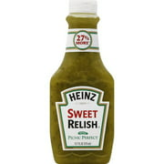 Heinz Sweet Relish, 12.7 oz (Pack of 12)