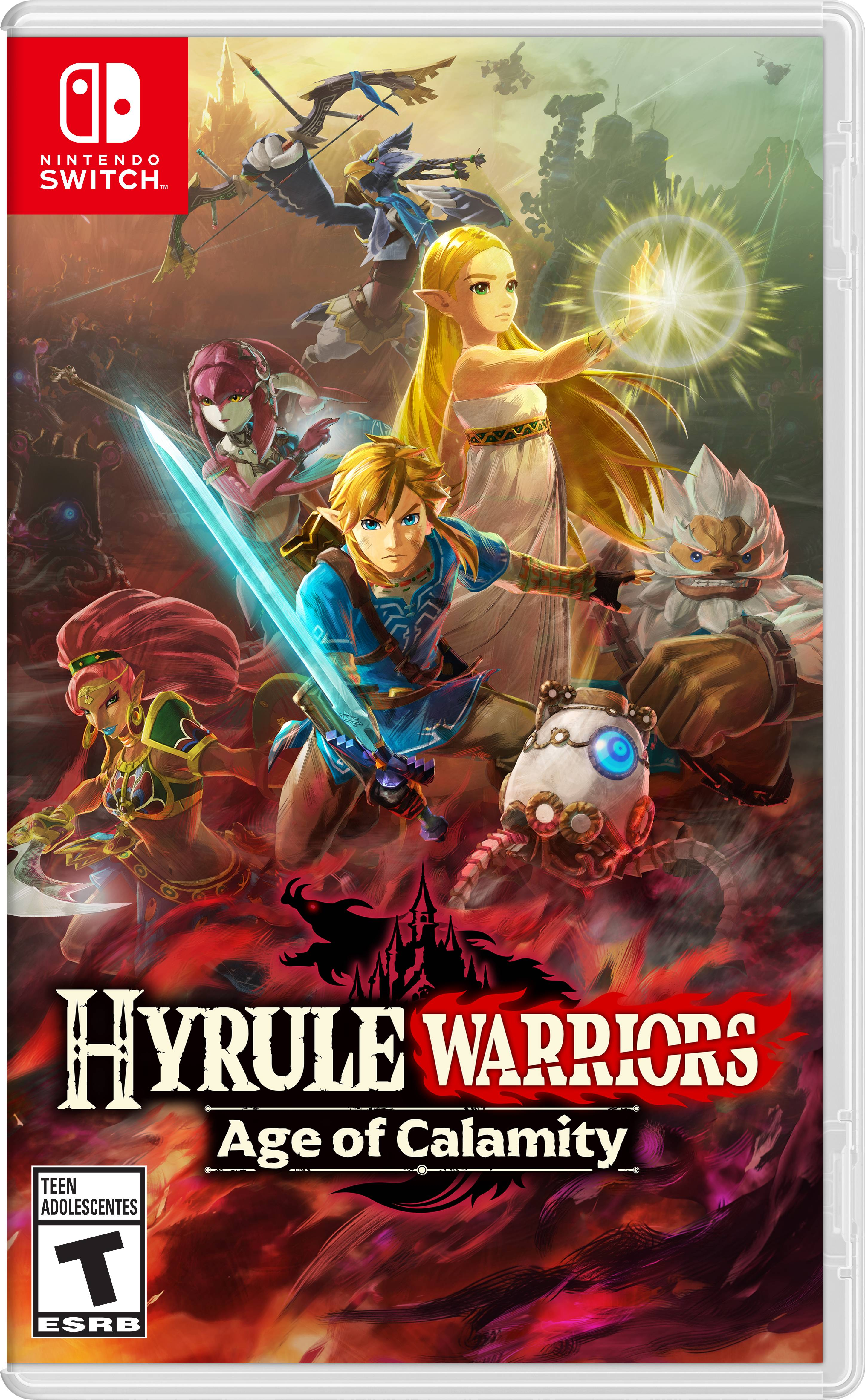 Hyrule Warriors Age Of Calamity Nintendo Nintendo Switch Walmart Com Walmart Com