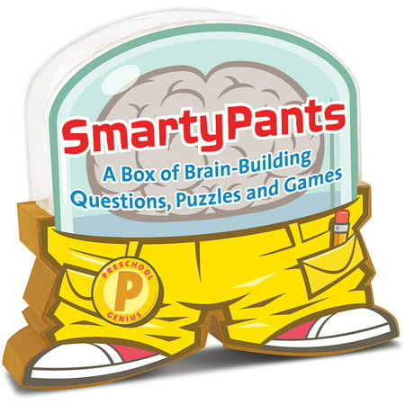 Melissa & Doug Smarty Pants Preschool Card Set Educational Activity With 120 Brain-Building Questions, Puzzles, and Games](Preschool Halloween Games)