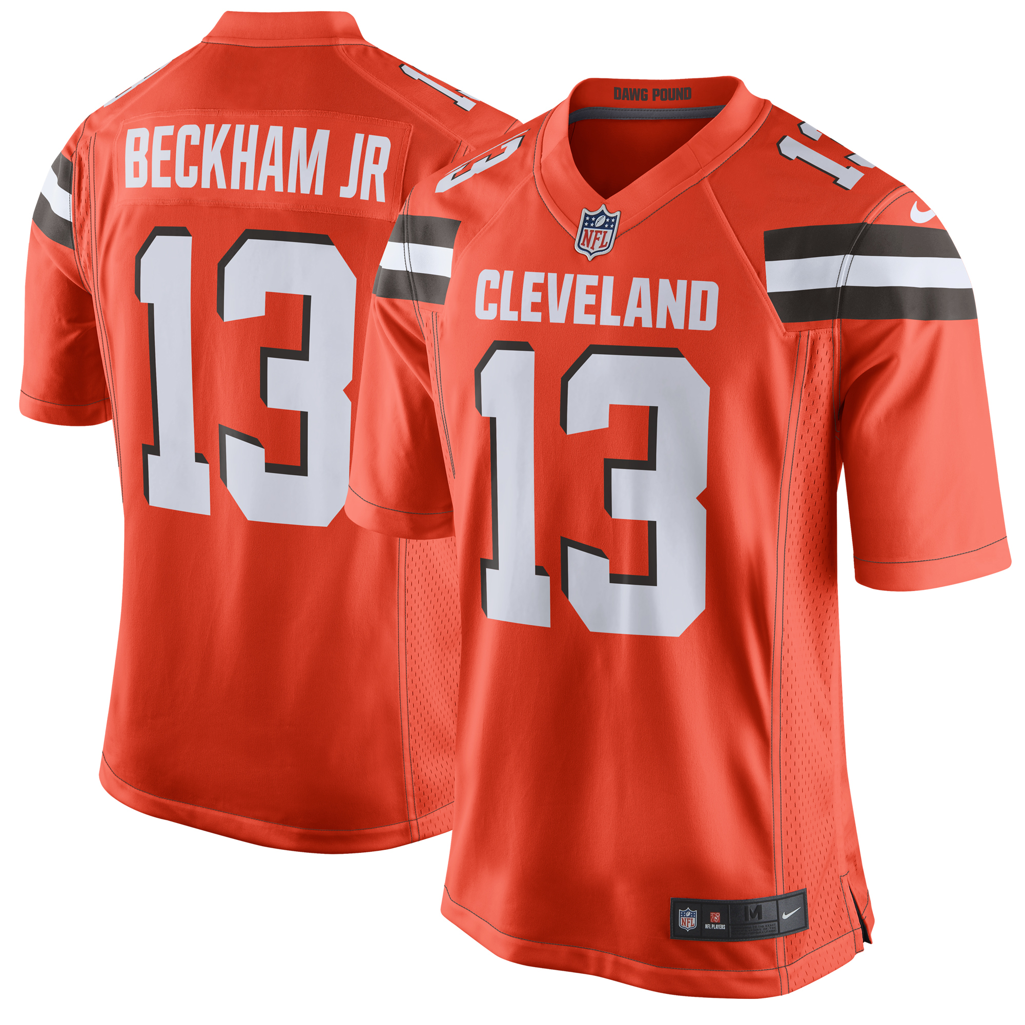Odell Beckham Jr Cleveland Browns Nike Game Jersey - Orange