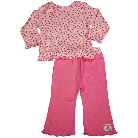 - Mish Mish - Baby Girls Long Sleeved Pant Set Pink / 3 Months