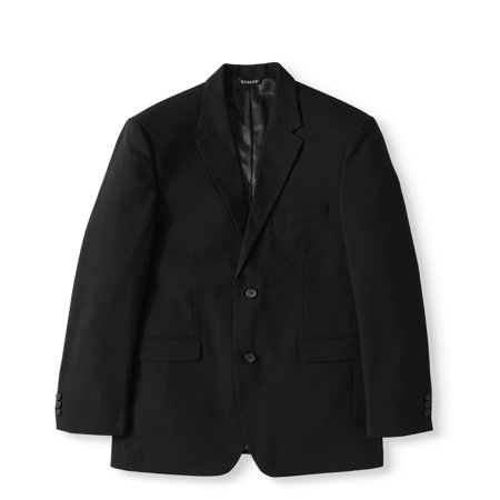 George Men's Performance Comfort Flex Suit Jacket (Pinstripe Suit Blazer)