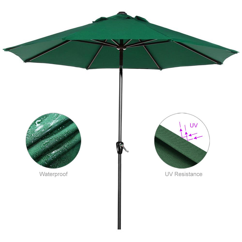Greenwise 9ft Patio Umbrella With Tilt