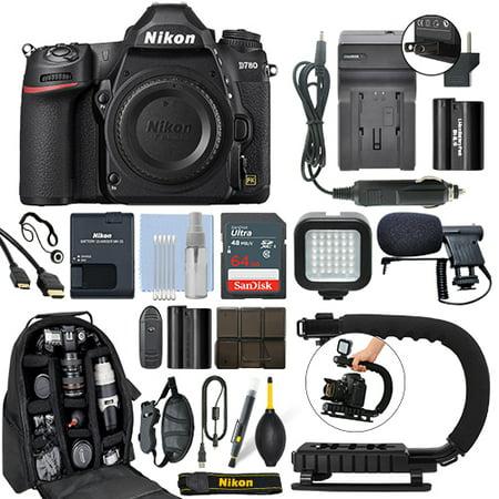 Nikon D780 Digital SLR Camera Body 24.5MP 4K FX-format + 64GB Pro Video Kit