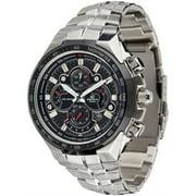 Casio Men's Edifice EF554SP-1AV Black Stainless Steel Quartz Watch